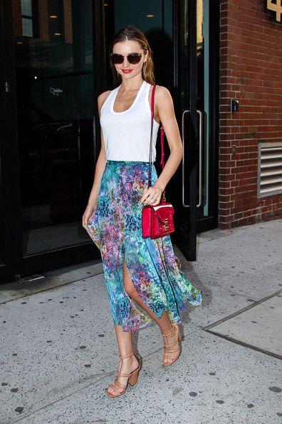 Miranda Kerr - Miranda Kerr Shows Off Her Topshop Style