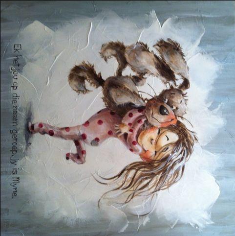 Alice Art Gallery - Ek het jou op jou Naam geroep    -    Jy is myne!