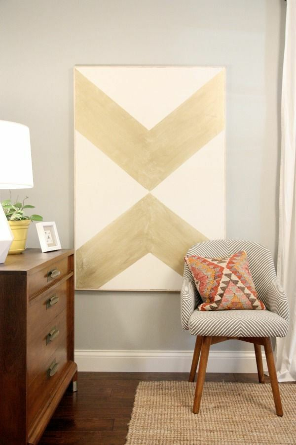Die besten 25+ Chevron schlafzimmer dekor Ideen auf Pinterest - schlafzimmer ideen braun mit rosa