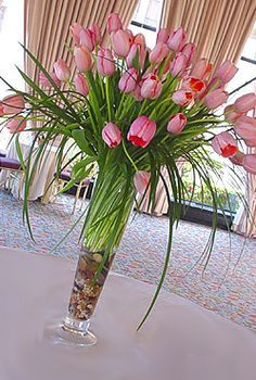tulip wedding on Pinterest | Tulip Centerpieces, Tulip and ...