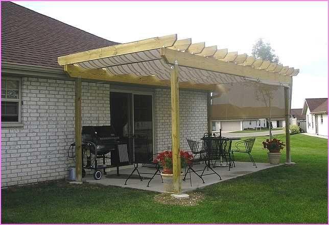 Pergola Roof Stirrups How To Build A Pergola Step Eight