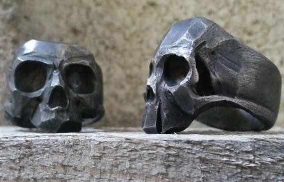Esterlina de anillo cráneo joven Lor G joyería Live por lorgjewels