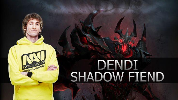 Dendi ● Shadow Fiend ● Dota 2 ● MMR Gameplay