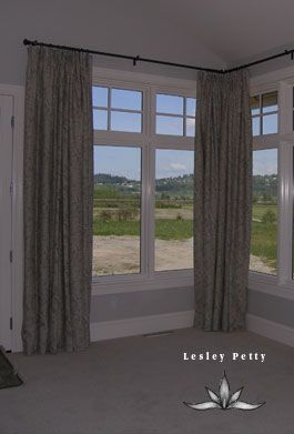 Best 25 Corner Window Curtains Ideas On Pinterest