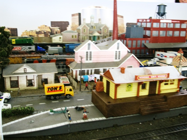 Model Train Display entry fee is a gold coin donation which goes to charity.