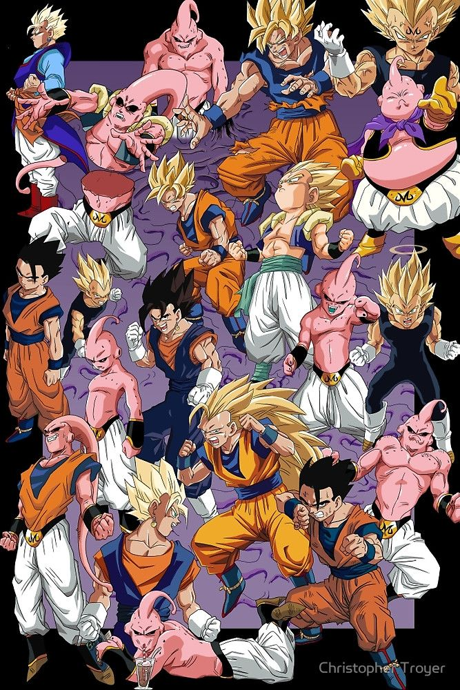 Dragon Ball Z, Buu Saga. Via tumblr.