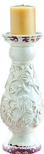 Manual Fauna Small Cream Candle Holder
