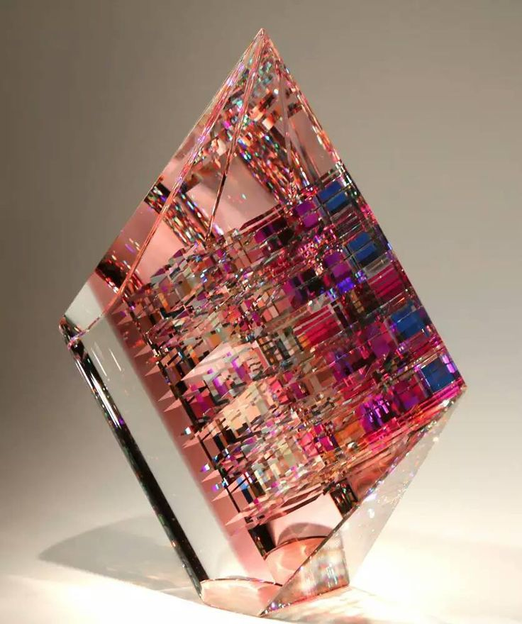 Jack Storms makes amazing crystal artwork by hand!