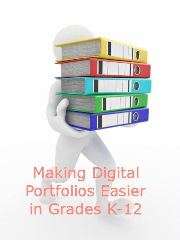 Making Digital Portfolios Easier #weareteachers