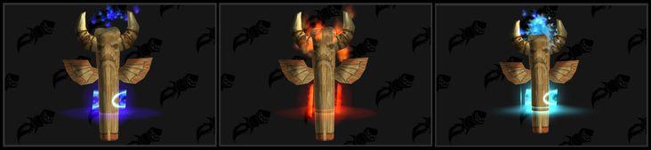 Check out these Tauren Shaman Totems #worldofwarcraft #blizzard #Hearthstone #wow #Warcraft #BlizzardCS #gaming