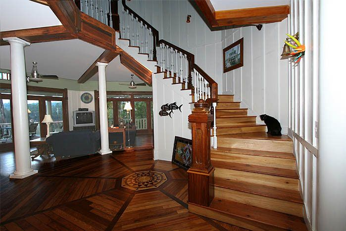 armour stiner octagon house interior land of whimsy