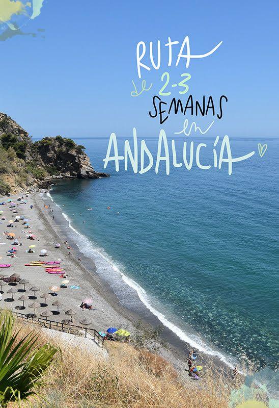 Ruta en coche por Andalucia de 2 y 3 semanas (para verlo casi todo) Nerja, Andalucia, Road Trip, Europe, Beach, Water, Travel, Outdoor, Spain