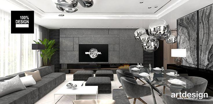 KEEP THE BALL ROLLING   Piękna aranżacja wnętrza apartamentu