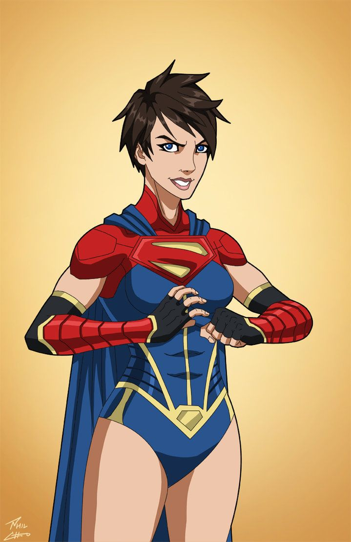 Supergirl 2.0 (Earth-27) commission by phil-cho.deviantart.com on @DeviantArt