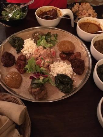 Ethiopisk snacks på Kokob