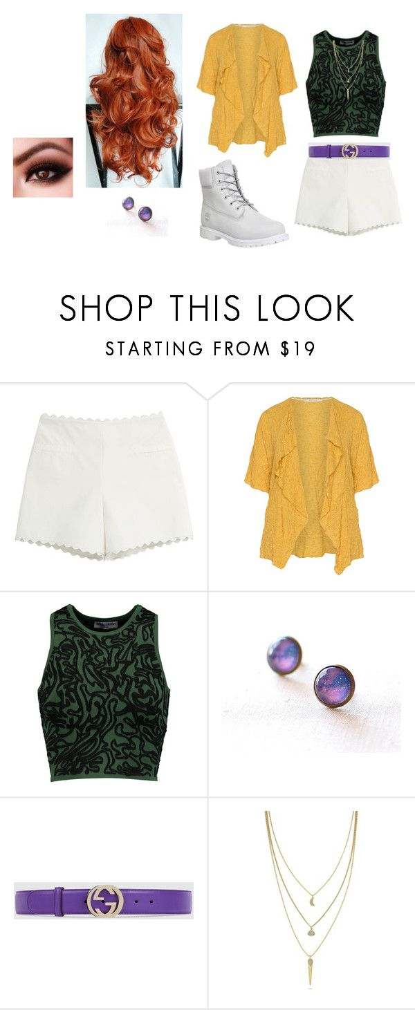 """Bakugan-Modern Alice"" by dora-2411 on Polyvore featuring moda, Moschino Cheap & Chic, Oliver Jung, Opening Ceremony, Gucci, Cole Haan, Timberland e modern"