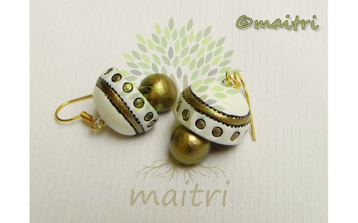 Medium Size Terracotta Earrings