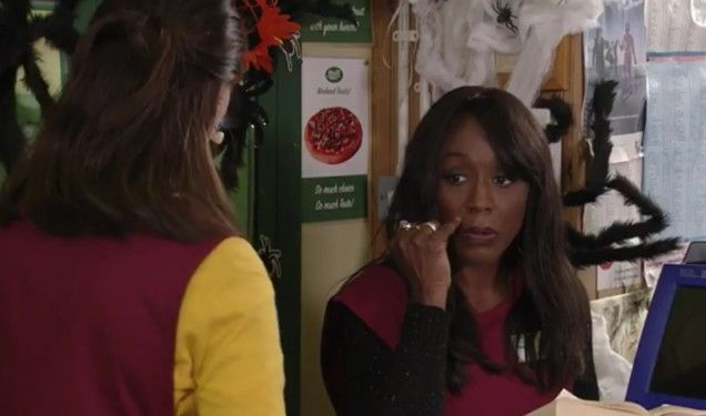 EastEnders: Has Honey sussed out Denises secret? Watch the preview clip