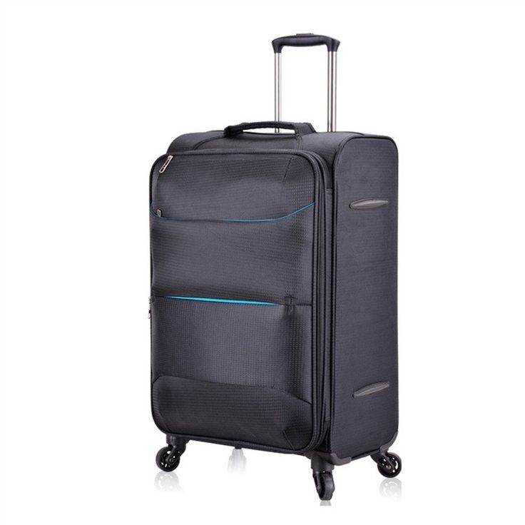 "20""24""29"" Ultra-light Oxford waterproof international travel trolley case carry on cabin rolling luggage suitcase with wheels"