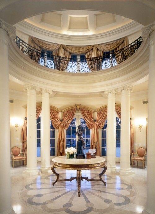 Grand Foyer Lighting : Best home foyers images on pinterest luxury houses