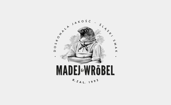 Madej & Wróbel by Studio Otwarte, via Behance