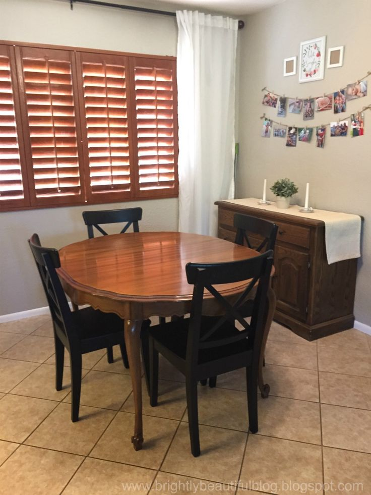 All Things Bright And Beautiful Refinished Dining Table