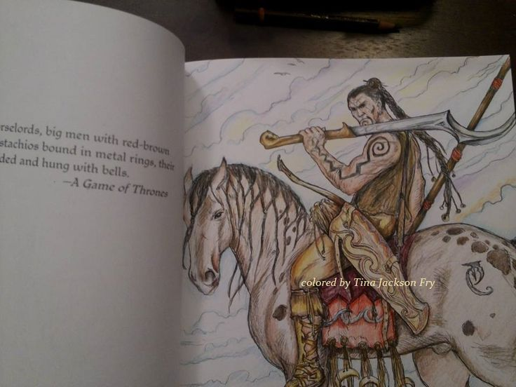 Game Of Thrones Coloring Page