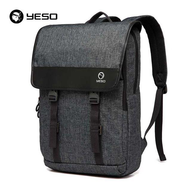 2016 YESO Merek Wanita/Tas Laptop pria Ransel Sekolah Untuk Remaja Multifungsi Polyester Travel Tas Fashion Kasual Ransel