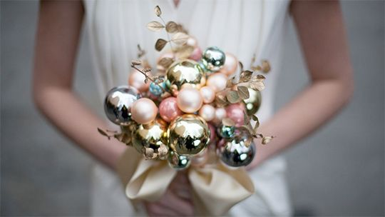 Christmas Bulb Bouquet