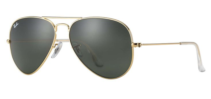 Ray Ban Aviator Classic Gold Unisex Sunglasses Rb3025 L0205 58 14 135 راي بان افياتور كلاسيك جولد نظ Eyewear Accessories Ray Ban Eyewear Aviator Classic Gold