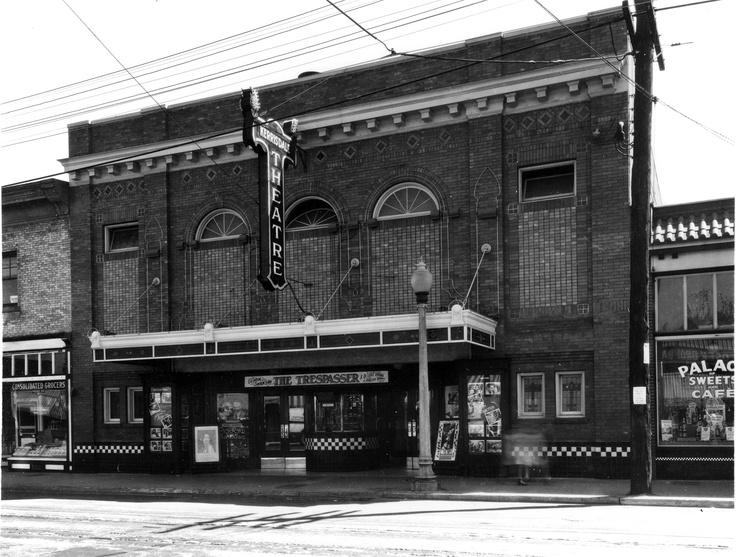 "Kerrisdale - Date: July 22, 1930 Kerrisdale Theatre VPL Accession Number: 11043 Photographer / Studio: Frank, Leonard Location: British Columbia - Vancouver - 2138 West 41st Avenue British Columbia - Vancouver - 2134 West 41st Avenue Content: Sign on Theatre ""Gloria Swanson in The Trespasser"" http://www3.vpl.ca/spe/histphotos/"