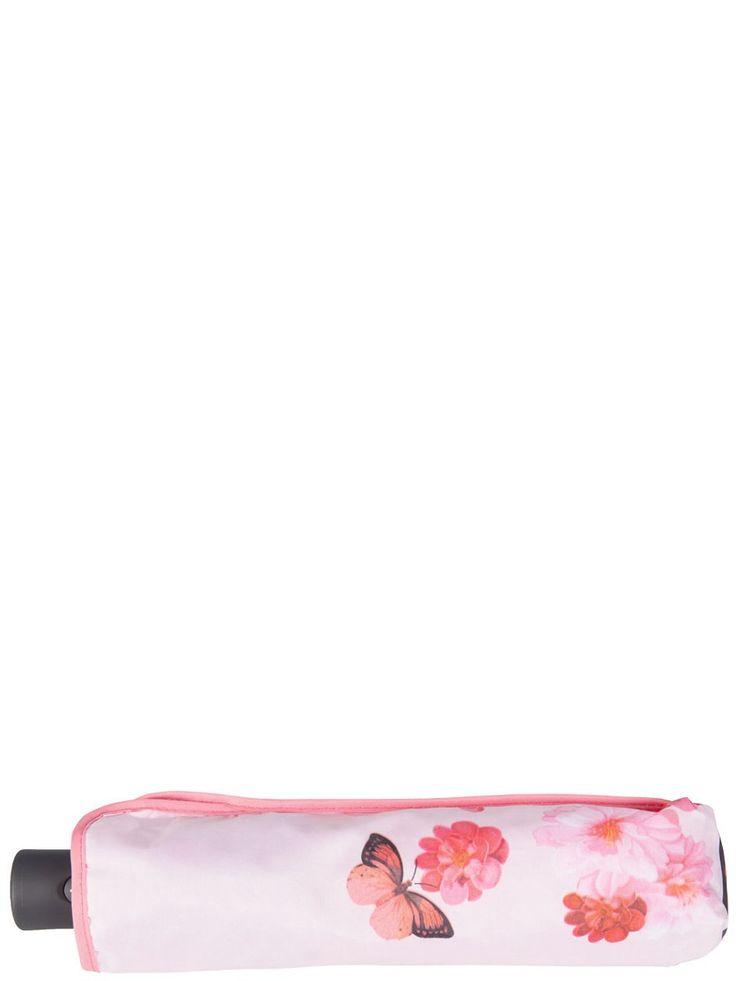 Зонт Labbra. Цвет синий, бледно-розовый, коралловый.