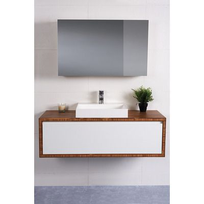 Pure W/H Bamboo Surround Vanity Only