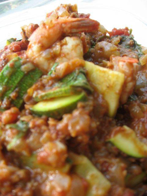 Garam masala de camarones y chorizo | En mi cocina hoy