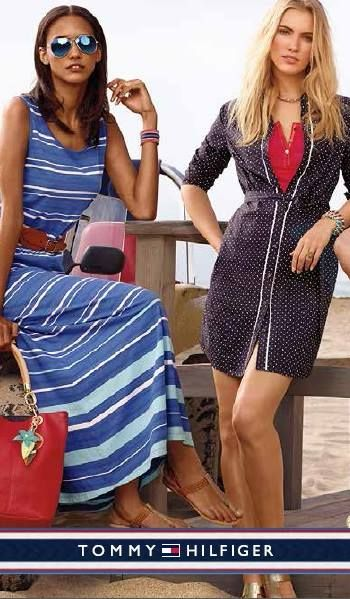 Stunning spring dress? Yes, please! Shop Tommy Hilfiger for the latest spring fashion dresses for mom. #SportYourUltimateMothersDay