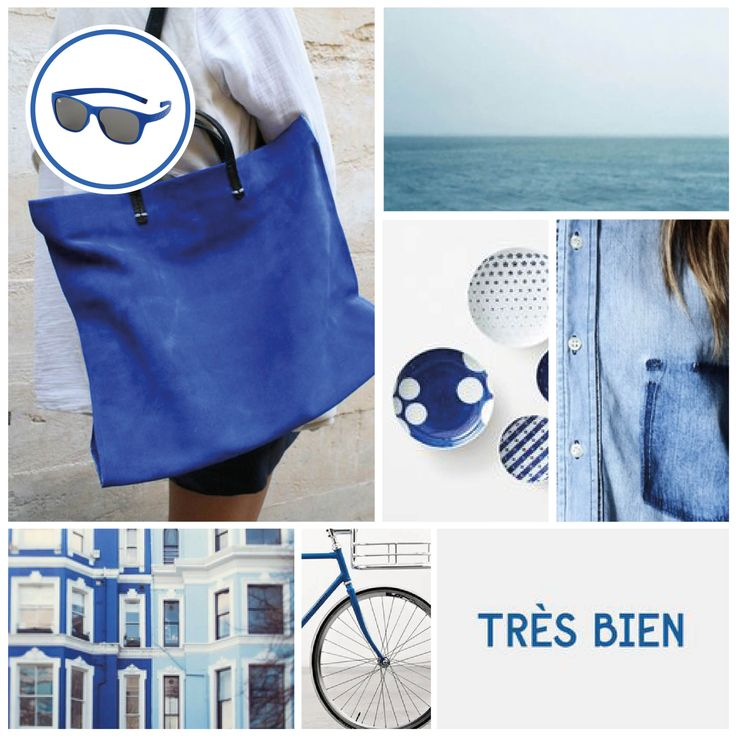 MONDAY MOODBOARD; Right Red. Start your week with color inspiration! In this weekly Monday Moodboard it's all about Blue. Focus: Bye Bye Blue Mondays. Ice-Watch Eyewear model: Pulse - Blue