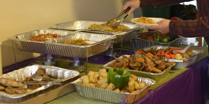 Foil Buffet Warming Pans Great Inexpensive Idea To Keep Foods Hot The Kitchen Sinc