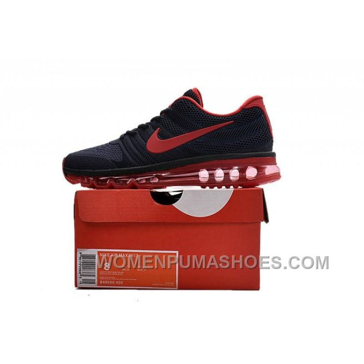 fb2fe62d8458 ... release date authentic nike air max 2017 kpu all navy red free shipping  kdkpdww 6dced 7c339