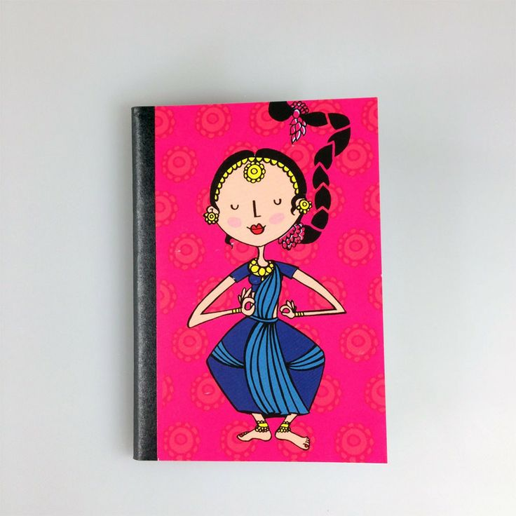 DANCERS OF INDIA NOTEBOOK - NOTEBOOKS - TRAVEL ACCESSORIES :: Chumbak