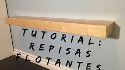 Tutorial: Como hacer Repisas flotantes – YouTube – #Cómo #flotantes #hacer #rep…
