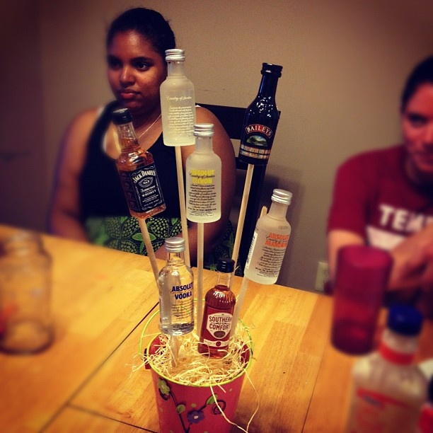 liquor bouquet!