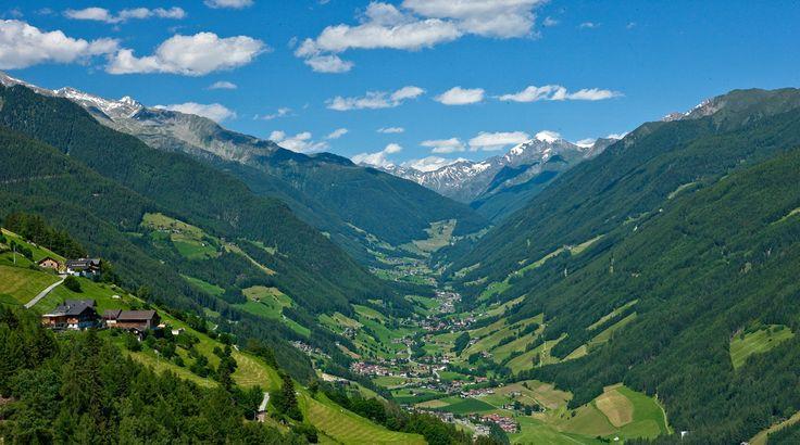 Das Ahrntal in der Ferienregion Kronplatz - La Valle Aurina nell'area vacanze Kronplatz/Plan de Corones #Ahrntal #ValleAurina #Kronplatz