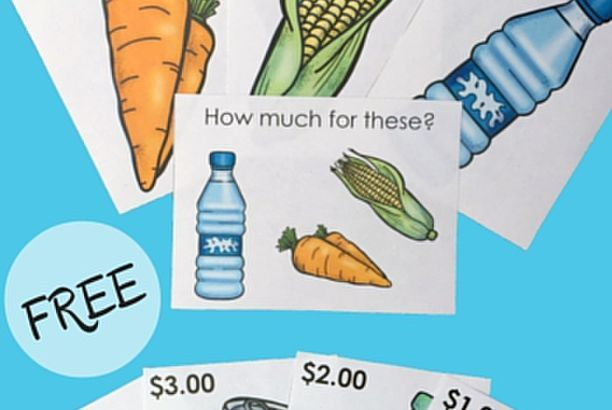 Grocery Task Cards: How Much Money Do I Need?