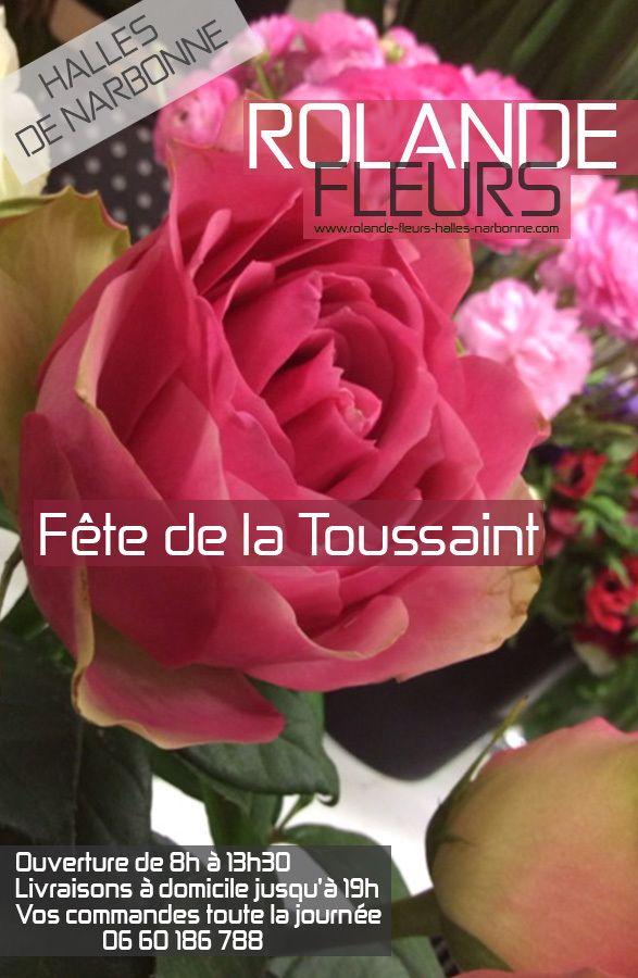 Bouquet de fleurs pour la toussaint narbonne chez votre for Fleuriste dimanche