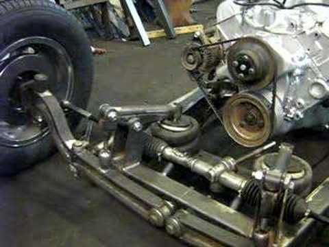 Front Air Suspension On My 32 Ford Chassi Youtube