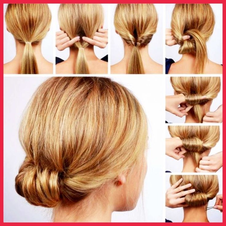 Lazy hairstyles ideas tutorials – easy lazy girl messy buns, half up, side braids, pony tails...