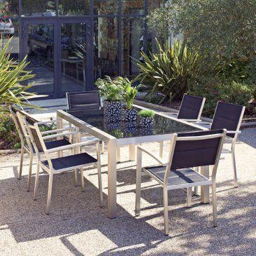 Die besten 25+ Salon de jardin aluminium Ideen nur auf Pinterest ...