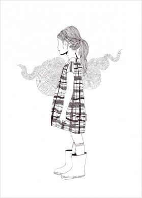 Illustrations Noir & Blanc d'Alice Dufay - L'Affiche Moderne