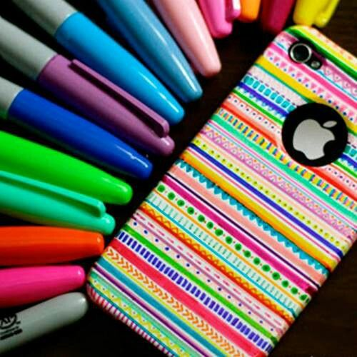 Sharpie phone case