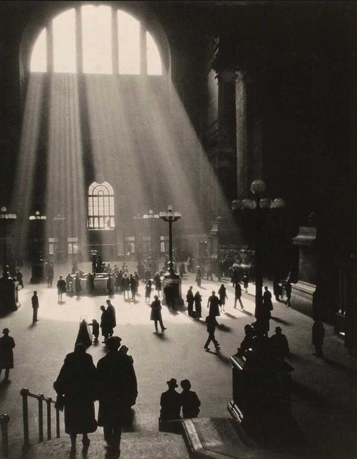 karel plicka   Amazing Pictures Of New York's Penn Station Before It Was Torn Down To ...